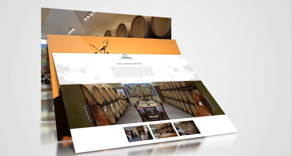 feudi di guagnano restyling website